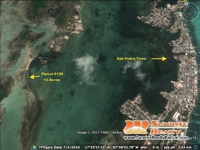 West Ambergris Caye 13 Acres