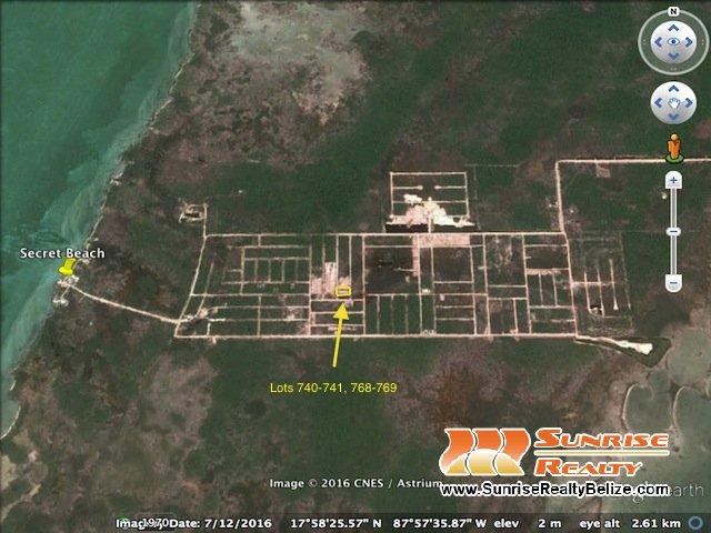Grand Belizean Estates Lots 740-741, 768-769
