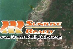 Ambergris Bay Lot 8464 - map